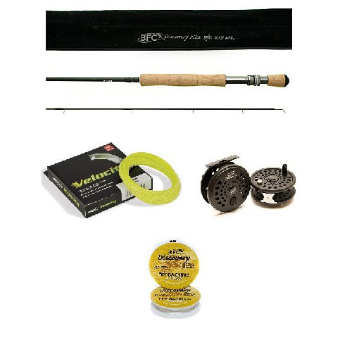 BFC Discovery Pike Fly Fishing Kit 9 ft #8/9